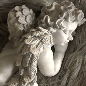 Accents - Sleeping Cherub Angel Decor | Shabby Chic, French